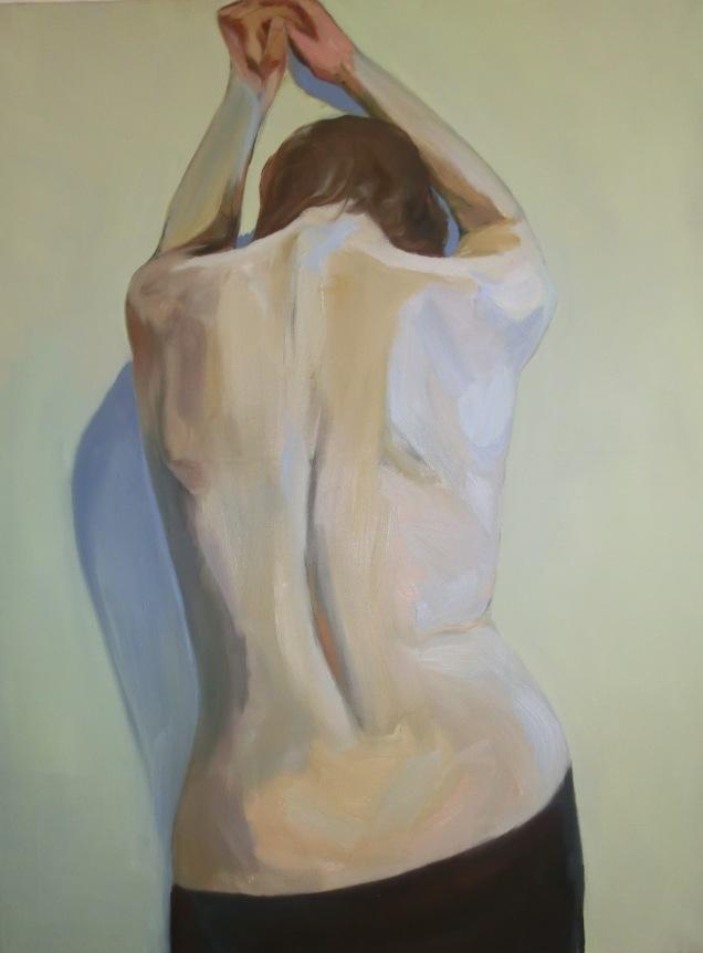 Anna Eisermann, O.T., 2012, 80x60 cm, Öl auf Leinwand