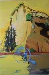Anna Eisermann, Schuld und Sühne, 2010, 120x80, Öl auf Leinwand