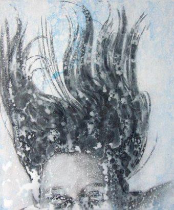 Unterwasser----Acryl-auf-Leinwand---60x50cm