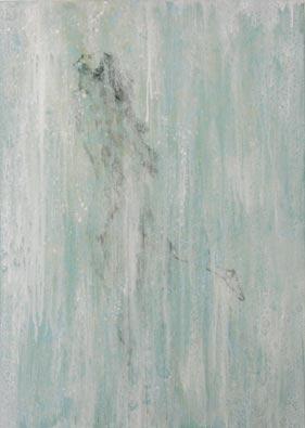 Zum Weiß strebende--Acryl-auf-Leinwand---120x100cm--2012