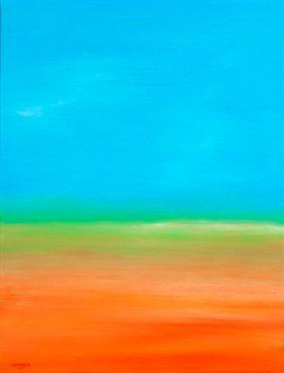 aus der Serie Himmel und Erde 82x63 cm Öl auf Leinwand 2012