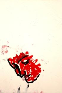 Träumerin, Acryl auf Tuch, 50 x 70 cm